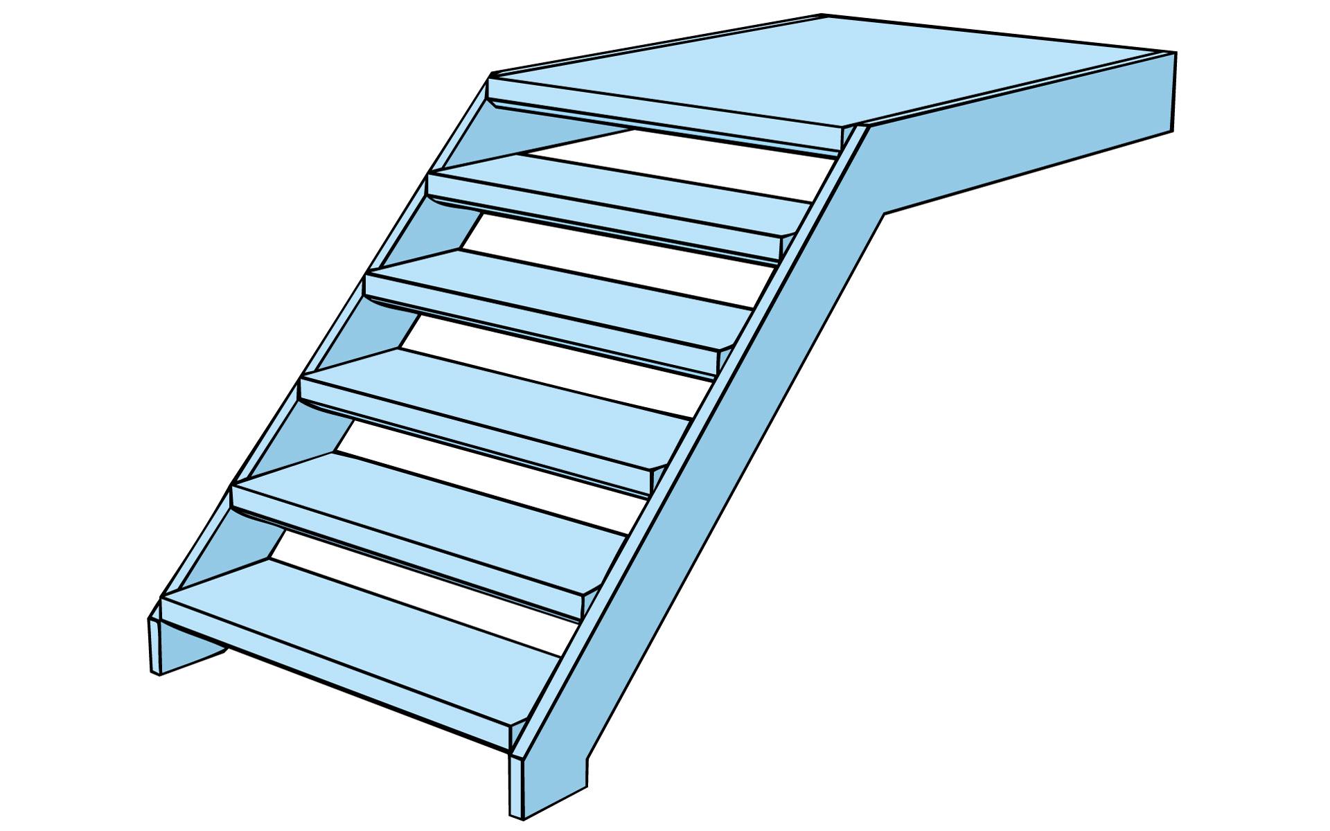 Gerade Treppen Projektierung Weland Gmbh